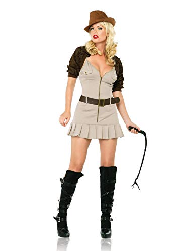 Unbekannt Seiler24 Sexy Miss Safari Anni Jones Damen Kostüm