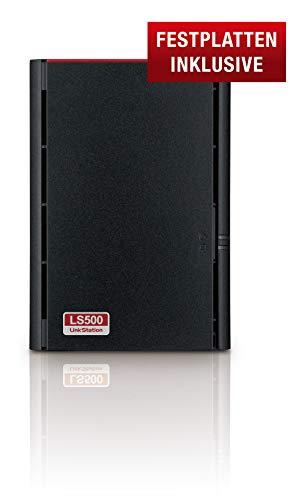 Buffalo LS520D0802-EU LinkStation 520 2-Bay NAS 8TB