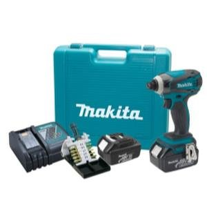 Preisvergleich Produktbild Makita LXDT04X1 18V Li-on Impact Driver Kit w/Impact Gold Bit Set by Makita