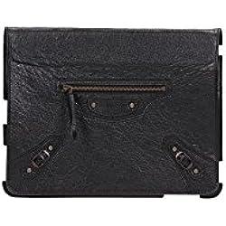Porta iPad Balenciaga Uomo Pelle Nero 294592D940T-1000-212 Nero Unica