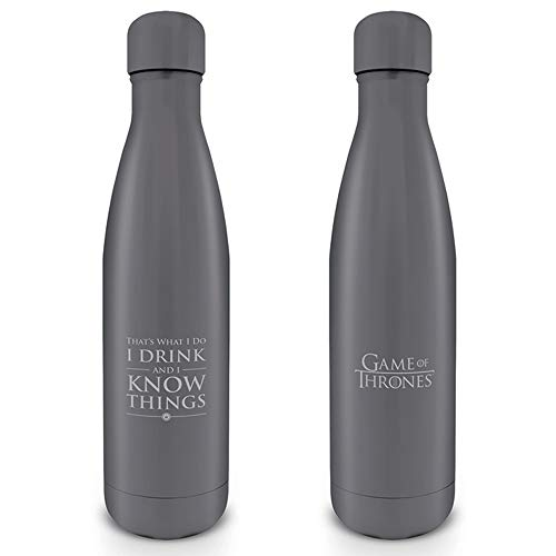Game of Thrones Mdb25400, Borraccia Unisex Adulto, Multicolore, 500 ml