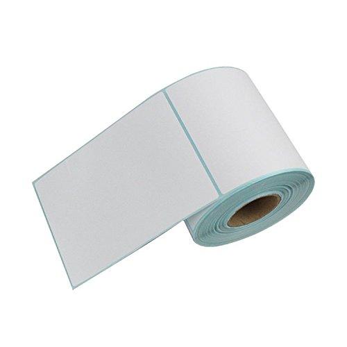 DYNASUN 500 Stück 10x15cm Thermo Etiketten auf Rolle 102x152 mm Kern 25 mm aussen gewickelt für Versandetiketten DPD, UPS, GLS und DHL