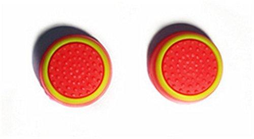 Stillshine prise de pouce thumb grip silicone caps pour PS2, PS3, PS4,...