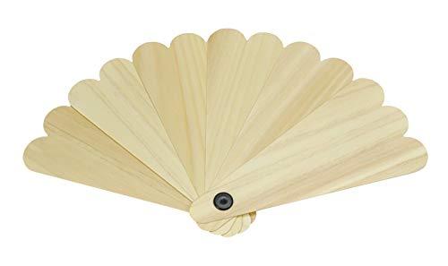 Yamako hinoki traditionellen japanischen Hand Fan Sensu 80096