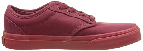 Vans Atwood, Jungen Sneakers Rot (check Liner/burgundy/red)