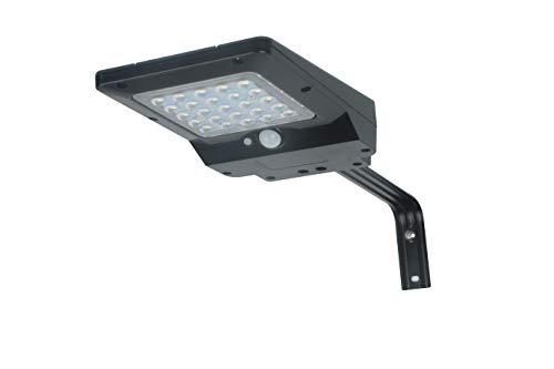 Solarleuchte mit Bewegungssensor 400 Lumen Solar Street Light Solarleuchten Solarlampe für Außen, 2,3 Watt Solarpanel, Außenleuchte für Garten, Garage und Hof