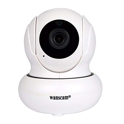 LCLrute WANSCAM IP Kamera Überwachungskamera 1080P IP Camera WiFi Audio Smart Schwenkbar Home Camera Haustier Baby Camera IP Kamera App Kontrolle - Wireless Ip-kamera Wanscam