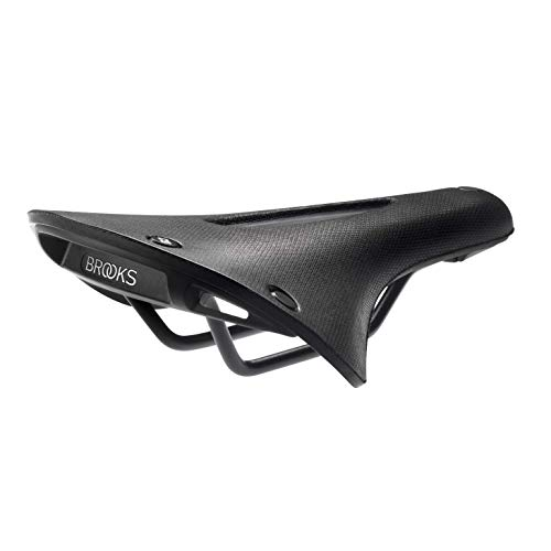Brooks Cambium C15 Carved All Weather Fahrradsattel, Black, 283 x 140 x 52 mm