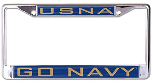 Wincraft United States Naval Academy USA Premium Nummernschildrahmen Go Navy - United License Plate Frame