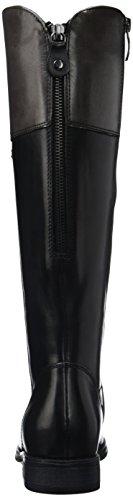 Tamaris 25530, Bottes hautes Femme Noir (Blk/Graphite 050)