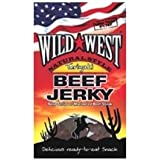 Wild West Slab Beef Jerky Teriyaki 25g (Pack of 12)