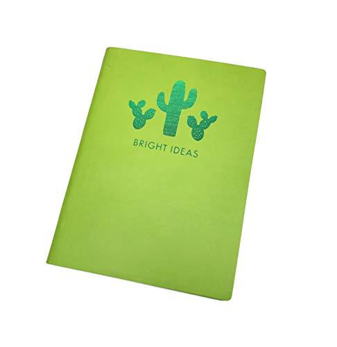 BRIGHT IDEAS Kaktus Mottoparty gefüttert Neuheit Notebook 20,3x 15,2cm