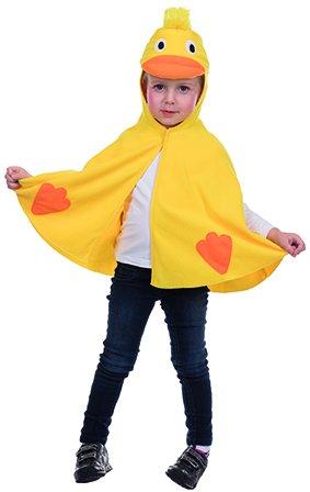 Kinder Ente Kostüm - Ente Cape Entenkostüm für Kinder Tierkostüm