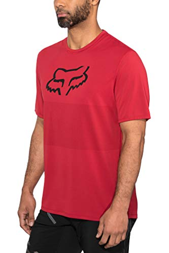 Fox Jersey Ranger Foxhead Cardinal L -