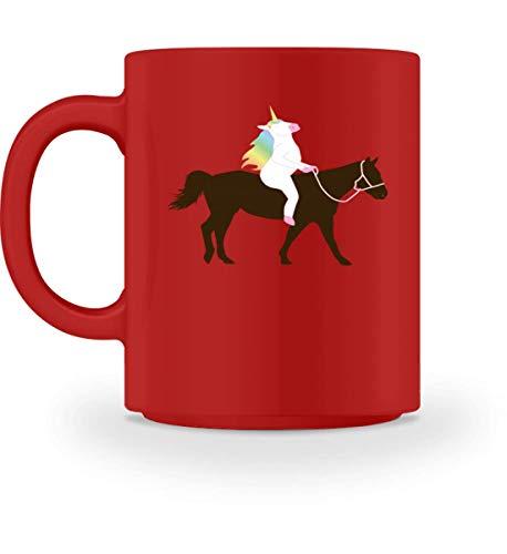 Perfekt für Einhorn und Pferde Fans - Tasse