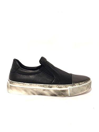 Sneakers DV265/573 slip on Divine follie in pelle 40, nero MainApps