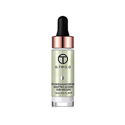 Alexsix 15ML Liquide Surligneur Maquillage Crème Concealer Cosmétique Shimmer Visage Glow Contour Éclairez la Base de Maquillage