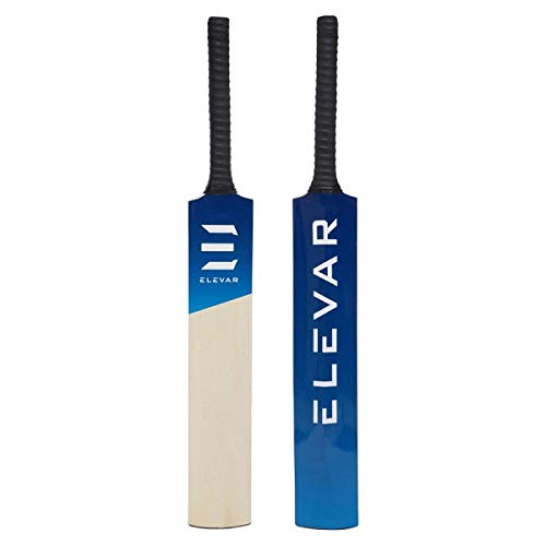 Elevar Gully - Kashmir Willow Tennis Ball Bat for Hard and Soft Tennis Balls (Gully-Cricket-Size/Medium)