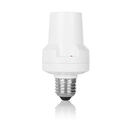 Smartwares SH5-RFD-A E27 SmartHome Funk-Lampenfassung E27-Dimmer 60 Watt Weiß