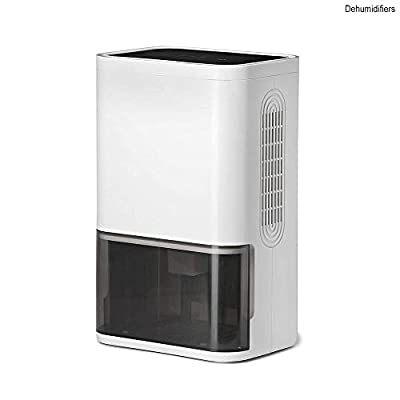 KY&cL Electric and Portable Small Mini dehumidifier, Quiet air semiconductor Technology for 150 sq.ft Rooms, Timing and purify air Function for Home, Office