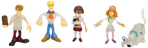 Giochi Preziosi Scooby Doo 03437 - Mystery Mates, blíster de 5 figuras (surtido: modelos aleatorios)