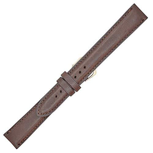 Real Leather Creations - Damen Herren -Armbanduhr- WSML-MNT-PAD-BRN-17L-FBA947 Mnt Box