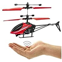 MooMoo Toys™ Hand Sensor Helicopter with USB Charger - Muliticolor