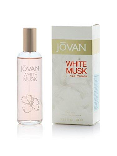 Jovan almizcle blanco Eau de Cologne Spray para las mujeres 59ml