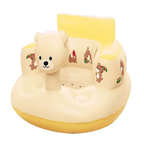 IrahdBowen Kinder Aufblasbares Sofa Baby Luftmatratze Wassersofa Wasserdichtes Schwimmsitz Tragbares Luftsofa Poolsessel für Indoor oder Outdoor excellently