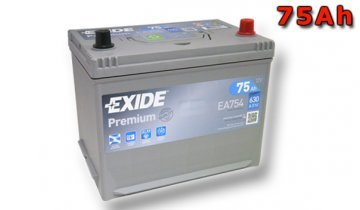 Preisvergleich Produktbild Exide EA754 Premium Starterbatterie 12V 75AH 630A