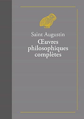 Oeuvres philosophiques complètes