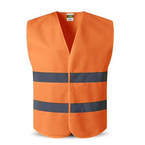 Safety Vest Reflective Safety Workwear Traffic Protective Workwear Work Driving Security Clothing (color5) Traffic Safety Vest
