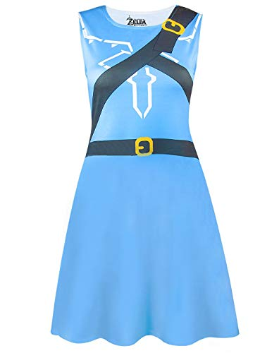 Damen Kostüm Zelda - Unbekannt The Legend of Zelda Breath of The Wild Costume Dress (S)