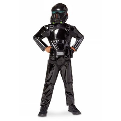 War Zubehör Kostüm Machine - Death Trooper Deluxe Kostüm für Kinder, Rogue One: Eine Star Wars Geschichte, Größe 4 Jahre, gehören geformte Pastic Maske