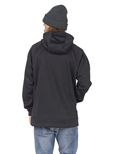 Burton Herren Crown Bonded Pullover Hoodie True Black