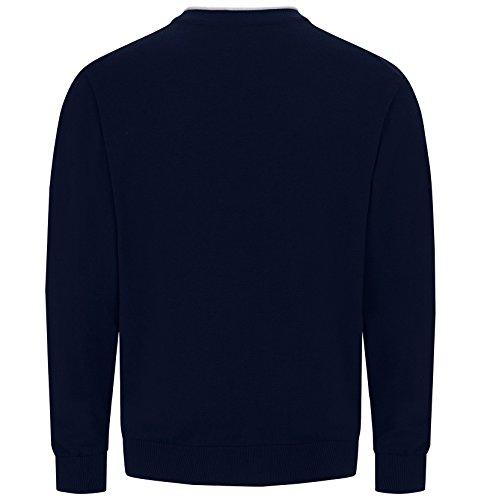JAN VANDERSTORM Herren Cardigan SINDBALD in Übergröße   Große Größen   Plus Size   Big Size   XL - 7XL Blau