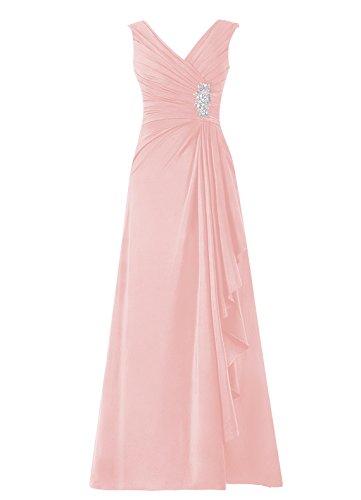 Dresstells Damen Abendkleider Homecoming Kleider Abiballkleider Blush