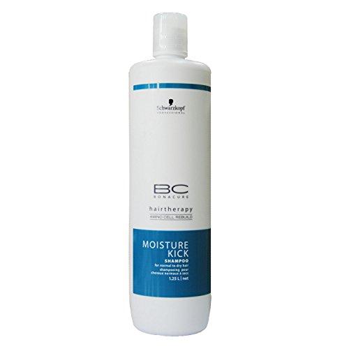Schwarzkopf BC Moisture Kick Shampoo 1000 ml, 1er Pack (1 x 1000ml)