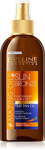Eveline, Öl intensive Bräune, 3 in 1, 150 ml, SUN Bronze