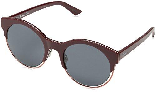 Dior Damen DIORSIDERAL1 BN RMD Sonnenbrille, Rot (Red/Dark Grey), 53
