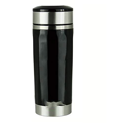 AWAKMER Edelstahl Auto Elektrische Heizung Wasserkocher Tasse Reise Kaffee Teebecher mit Ladegerät...