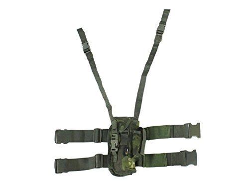 BE-X Taktisches Oberschenkelholster für Pistolen mittlerer Grösse, rechts - multicam tropic