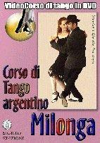 Milonga, corso di tango argentino in DVD