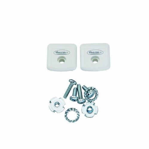 Therm-ic 01 2100 003 - Adattatore per scarponi da sci, set da 2, colore: Bianco