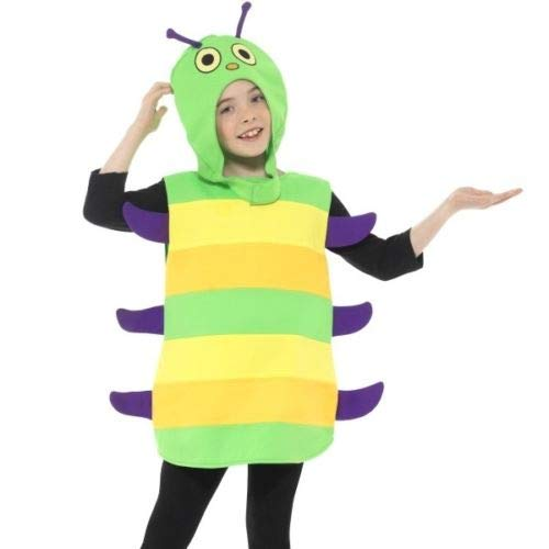 Fancy steps caterpiller Insects Fancy Dress Costumes for Kids (8 to 10 yrs)