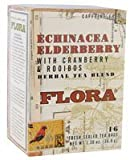 Flora Echinacea Elderberry Teabags 16 count