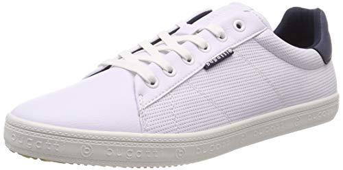 bugatti Herren 321719025900 Sneaker, Weiß, 42 EU