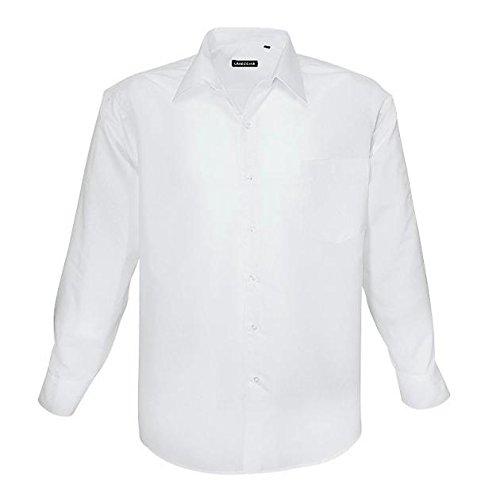 Zum Shop · HLA1314-2 weißes klassisches Herren Übergrößen Hemd Lavecchia Gr.  3-7 XL, 01ea970dca
