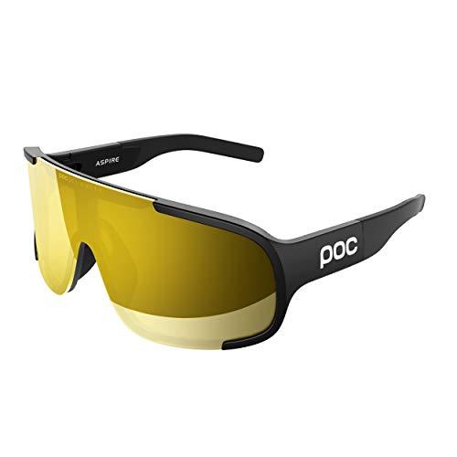 POC Aspire Sunglasses, Unisex Adulto, Uranium Black, One