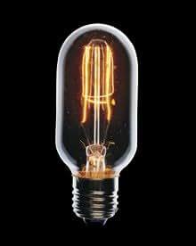 Pendantlighting 60W tubulaire 1920 Reproduction Ampoule Edison